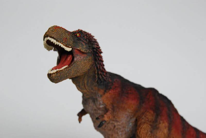 大人の恐竜模型館 Safari ティラノサウルス 羽毛ティラノサウルス 恐竜フィギュア レビュー